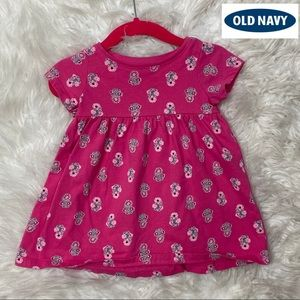 🎈Old Navy short Sleeve Tunic Dress 3-6 Months